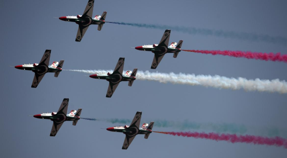 On Pakistan National Day, camels, parade & China jets on show