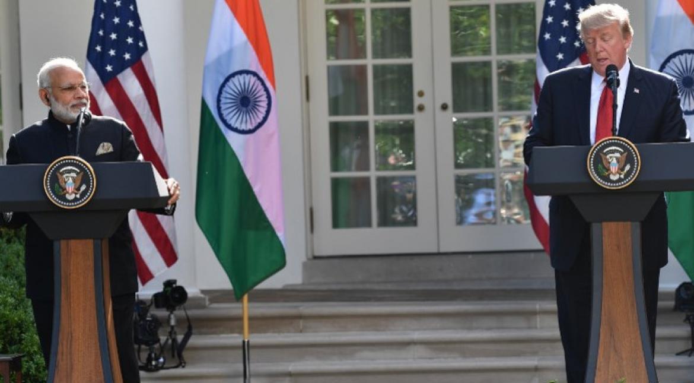 Modi and Trump: A warm embrace