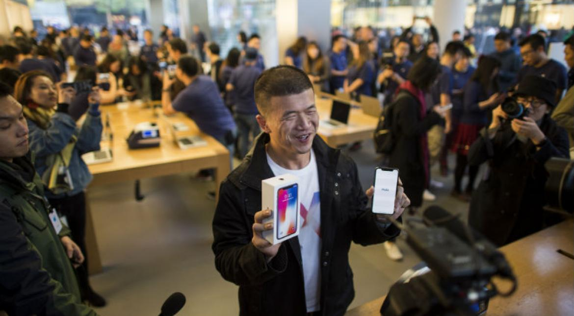 Fanboy moment: iPhone X mania grips the world