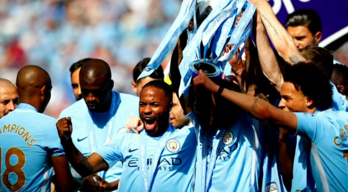 In pics: Champions Manchester City lift EPL trophy