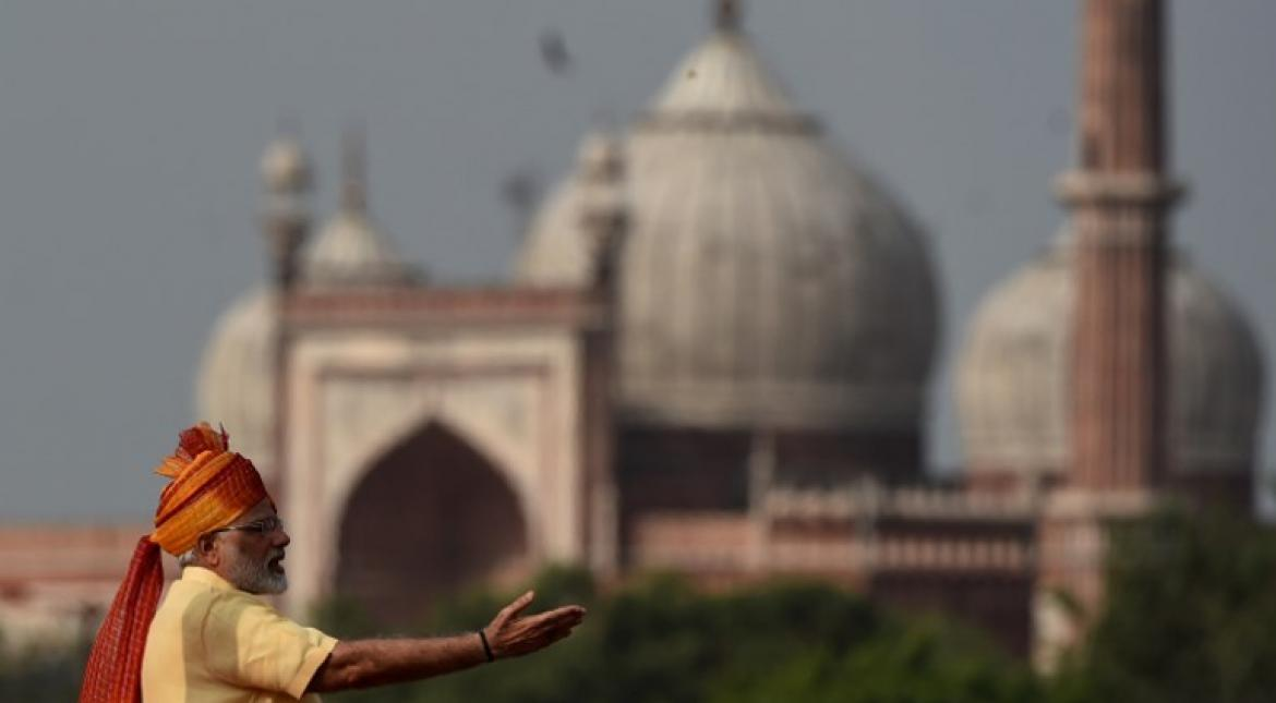 PM Modi at India's Red Fort