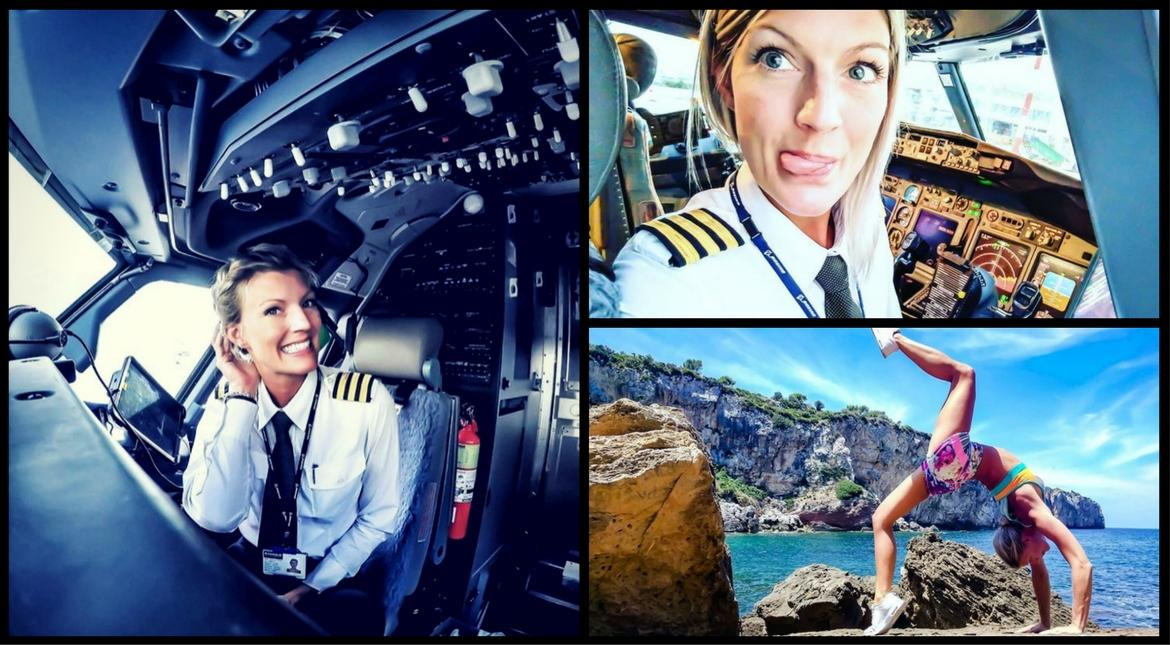 Young female pilots who are ruling the skies... and Instagram!