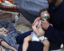 Chemical weapon experts of OPCW visit site of alleged chemical attack in Syria's Douma