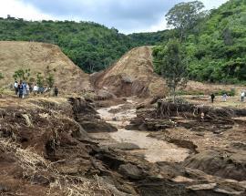 At least 41 dead as Kenya dam bursts after torrential rains