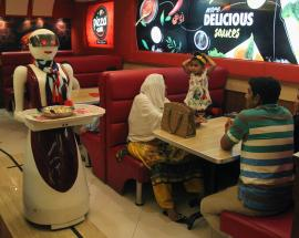 Meet Pakistan's robot waitresses: Rabia, Annie & Jennie