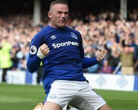 EPL: Rooney scores first goal for Everton