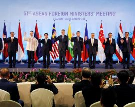 Asean asks bloc to brace amid trade feuds, repel protectionism