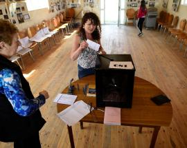 Exit polls predict landslide win for Ireland referendum that could lift strict ban on abortion