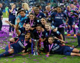 Lyon recover to record fifth Women's Champions League crown