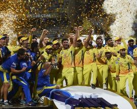 'Kings' Chennai crowned with 3rd IPL title