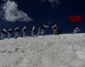 Chinese Army conducts live fire drill with drones, howitzers in Tibet: Report