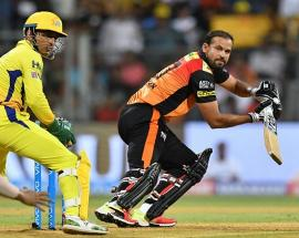 Hyderabad set 179 runs target for Chennai in IPL 2018 final