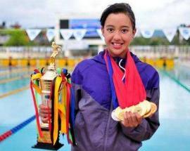 Quake survivor Gaurika Singh puts Nepal on Asian swim map