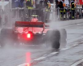 Motor racing: Rain washes out most of final German Grand Prix practice