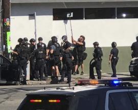 LA hostage situation: Woman killed inside supermarket, says mayor; gunman arrested