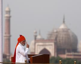 Will not forgive corrupt, those who have black money, PM Modi says in Independence Day speech