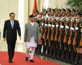 Nepal PM Oli signs road & energy deals with China