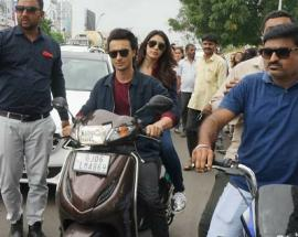 Salman Khan's brother-in-law Aayush Sharma fined for riding a bike without helmet