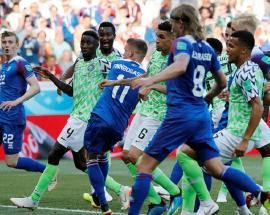 FIFA World Cup 2018: Nigeria bounce back with win against Iceland