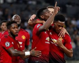 Classy Pogba steers Man United to 3-0 win against Young Boys
