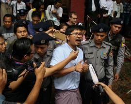 Wife of jailed Myanmar reporter gives birth to first child; pleads for his release to 'welcome baby'