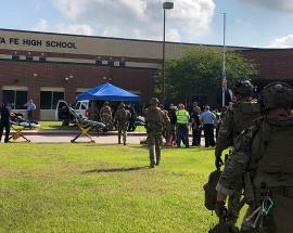 Man opens fire in Texas high school, at least 8 dead