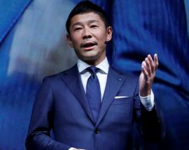 Japanese billionaire Yusaku Maezawa to be SpaceX Moon traveller