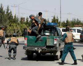 At least 10 killed in an explosion outside rural ministry's office in Kabul