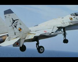 Chinese J-15 jets complete night landings on carrier in push to modernise