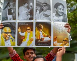 Life and times of DMK chief M Karunanidhi