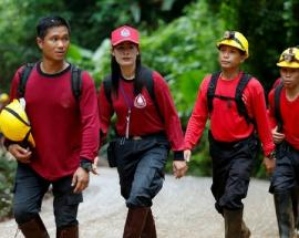 This is how 4 of the boys trapped inside Thailand cave were rescued