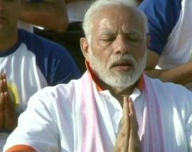 International Yoga Day in pictures: PM Modi says yoga is passport to heath assurance