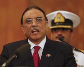 Former Pakistan president Asif Ali Zardari says will contest general election