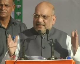 Amit Shah dares Congress to take action against Azad, Soz for their controversial remarks on Kashmir