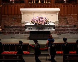 Ex-US presidents expected at Barbara Bush funeral