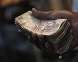 Rupee hits three-month low