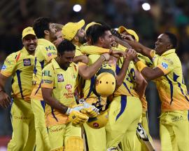 In pics: Chennai win by 8 wickets to cinch 3rd IPL title