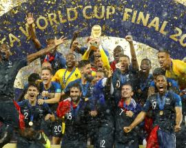 In pics: France celebrate being the new 'World Champions'