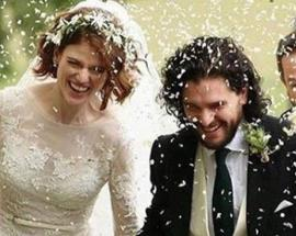 Game of Thrones couple Kit Harington, Rose Leslie marry in Scotland