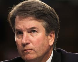 Trump Supreme Court nominee says he did not assault woman, she says she's willing to testify