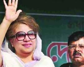Bangladesh ex-PM decries lack of justice over prison court hearing