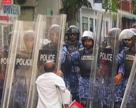 Anti-government protests intensify in Maldives, more opposition MPs detained