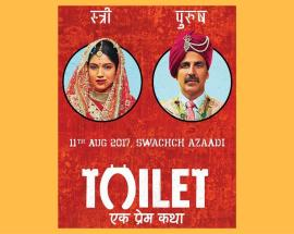 Bollywood film 'Toilet: Ek Prem Katha' brings attention to the issue of shortage of toilets in India