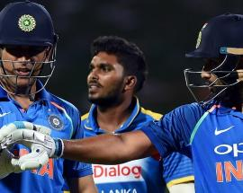 3rd ODI: Relive Rohit, Dhoni's record 157-run fifth-wicket partnership against Lanka