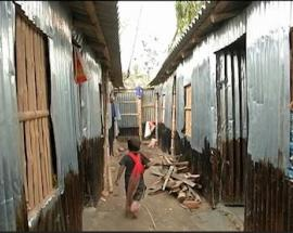 Rohingya refugee camp comes up in West Bengal's South 24 Parganas