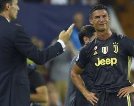 Watch: Cristiano Ronaldo given red card, leaves pitch in tears