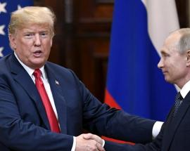 Trump says no president has been as 'tough' on Russia as him