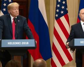 Helsinki summit: Trump says he holds US and Russia responsible for breakdown in relationship