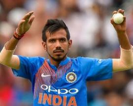 Watch: Yuzvendra Chahal's on-field gesture during India-Pakistan wins hearts