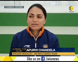 Asian Games 2018: Apurvi Chandela win bronze in 10-meter air rifle shooting